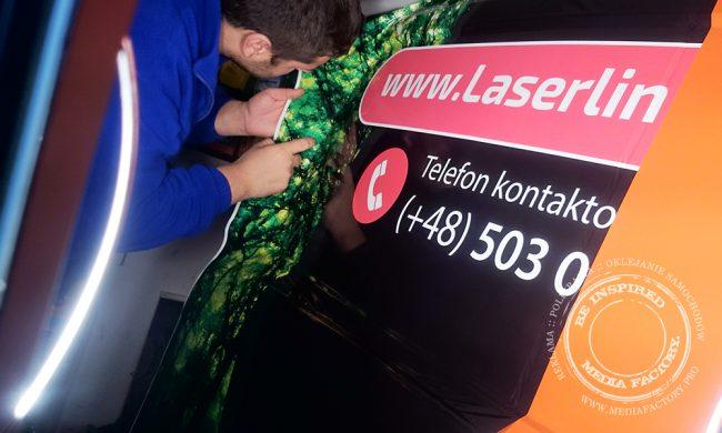 Laser Liniowy folia polimerowa wylewana laminat 10