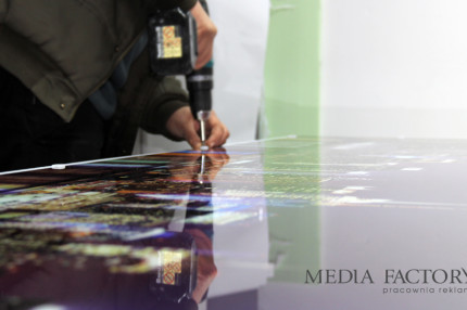 Printed glass panels