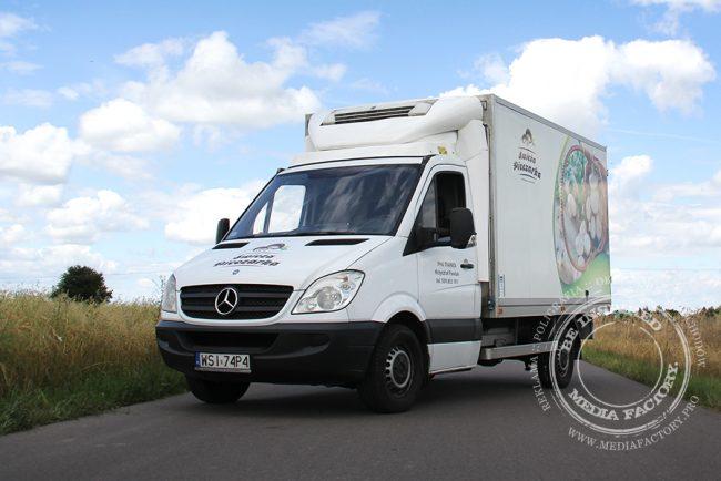 Mercedes Sprinter Swieza Pieczarka folia polimerowa laminat projekt ploter 1