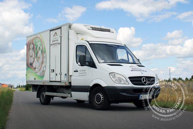 Mercedes Sprinter Swieza Pieczarka folia polimerowa laminat projekt ploter 5