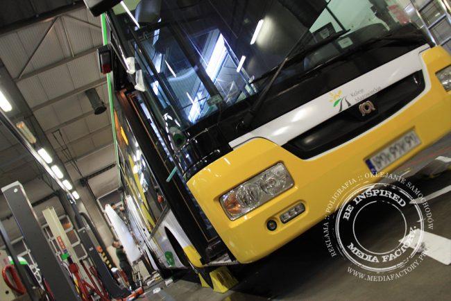 autobus Arriva koleje mazowieckie folia polimerowa wycinana ploterowo oklejanie 9