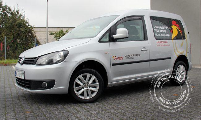 VW Caddy AVES weterynarz polimerowa folia ploterowa wycinanka 7