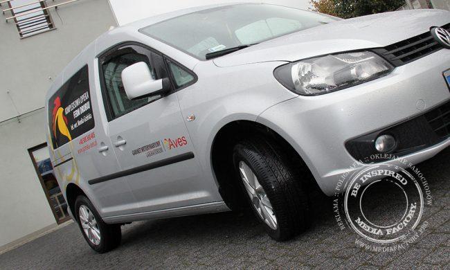 VW Caddy AVES weterynarz polimerowa folia ploterowa wycinanka 8