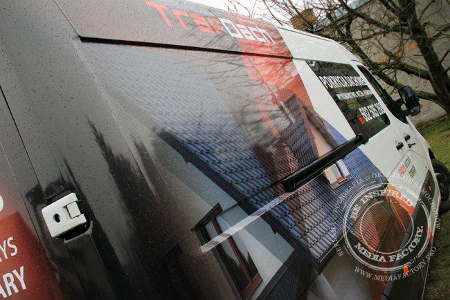 Opel Movano Traf Dach folia polimerowa laminat projekt ploter 3