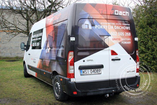 Opel Movano Traf Dach folia polimerowa laminat projekt ploter 5