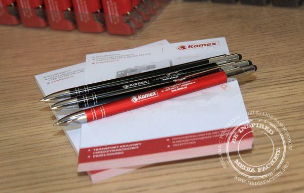 Aluminium pens