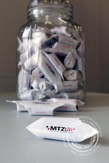 cukierki krowki MTZ z nadrukiem